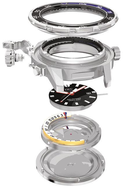 Aquatimer Deep Two : un profondimètre mécanique, car sous l'eau, deux sécurités valent mieux qu'une…
