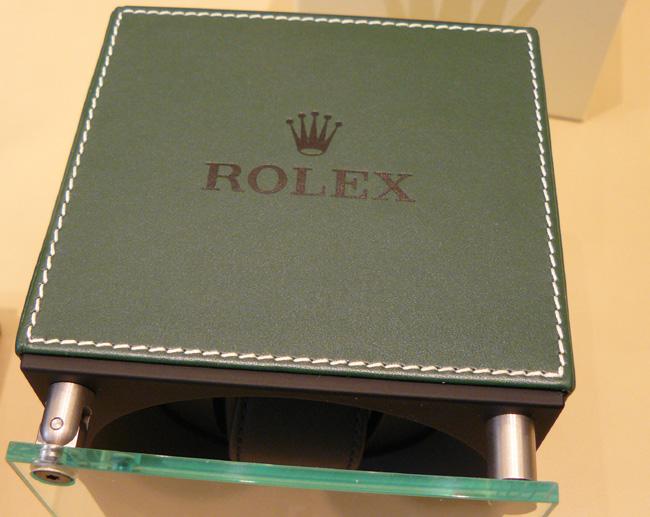 Nouveauté Rolex : deux modèles de coffrets rotatifs aux couleurs de la marque !