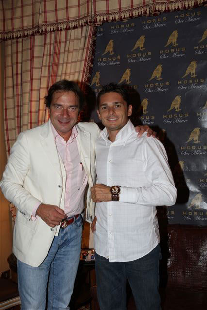 André Grossmann et Giancarlo Fisichella
