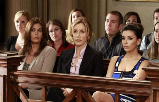Desperate Housewives : Felicity Huffman porte une montre Hermès L'Heure H