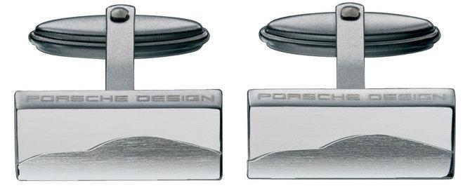 Boutons de manchette : mettez une Porsche à votre poignet !
