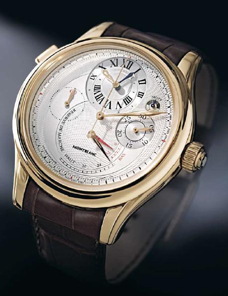 Montblanc Villeret 1858 Grand Chronographe Régulateur : entre tradition et innovation