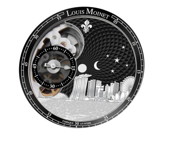 Louis Moinet : éditions limitées en hommage à Singapour