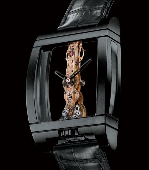 Corum Golden Bridge Black Titanium