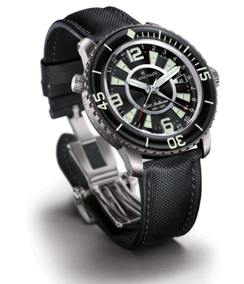 Blancpain 500 Fathoms GMT : une véritable plongeuse voyageuse…
