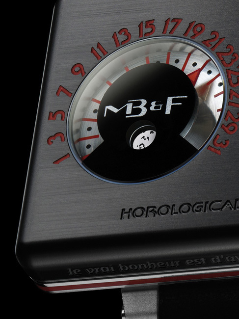 Horological Machine N°2.2 by Alain Silberstein : Black Box pour les intimes