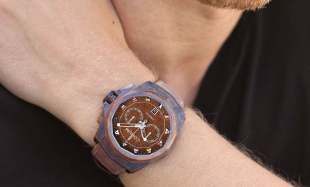 Corum Admiral AC-One 45 Chronograph : chacun son bronze