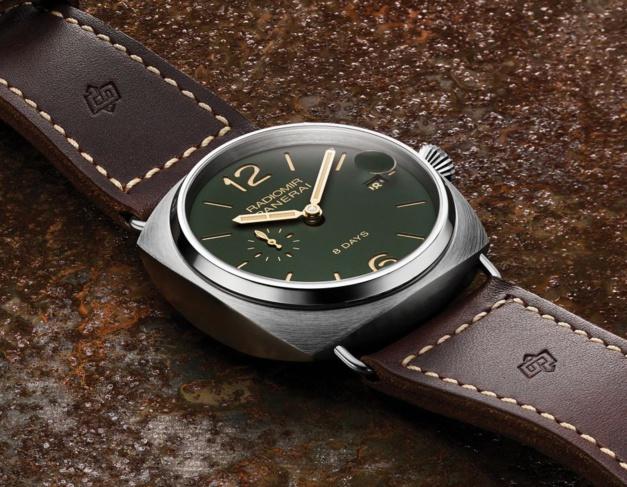Panerai Radiomir 8 Days Titane 45 mm : l'horloger florentin se met au vert