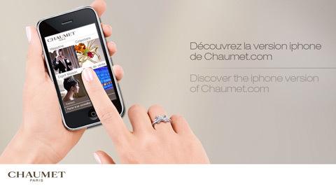 Chaumet propose une application iPhone : pour tout savoir de la Dandy et des autres collections