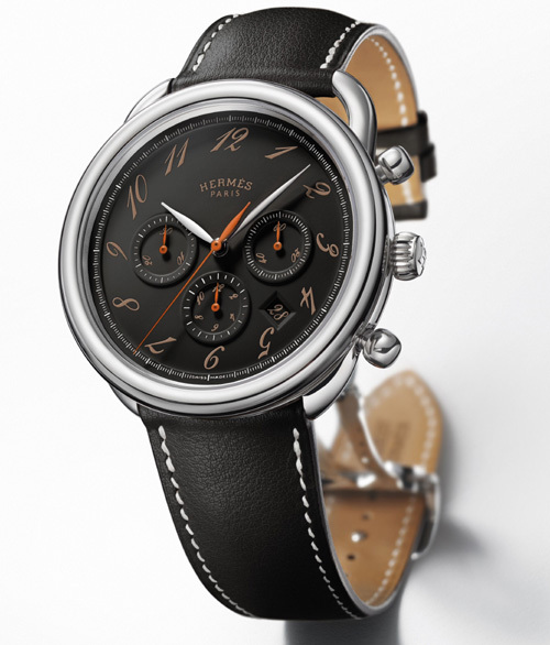 Hermès Arceau chrono ébène