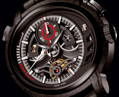 Tourbillon Chronographe « Millenary Carbon One » Audemars Piguet : c'est déjà demain