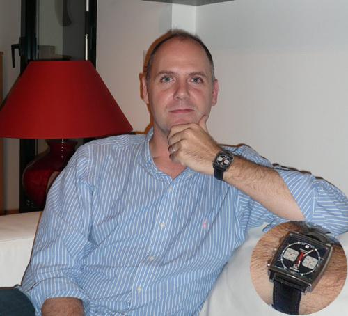 Portrait de Stéphane : quand la passion de l'horlogerie se transforme en blog...