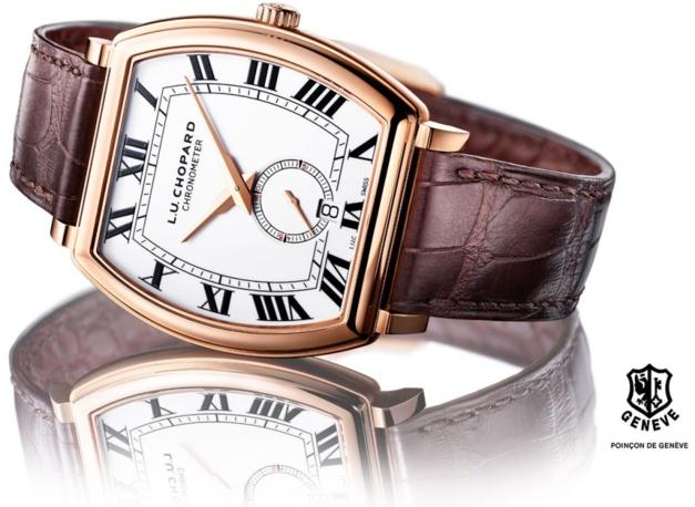 Chopard LUC Heritage Grand Cru : montre de forme... tonneau, forcément !