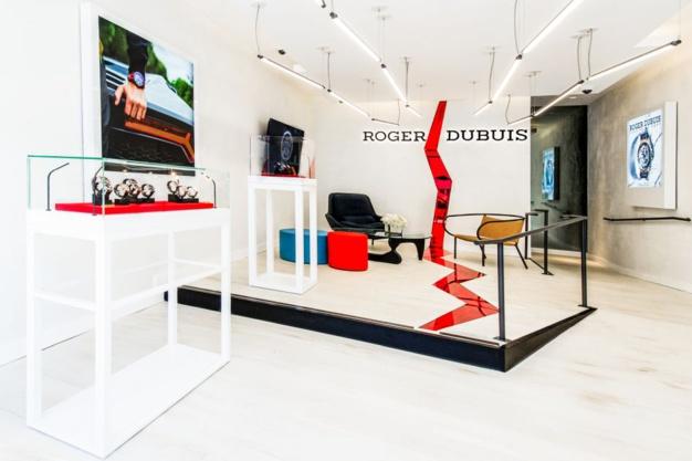 Roger Dubuis ouvre un concept-store à Los Angeles