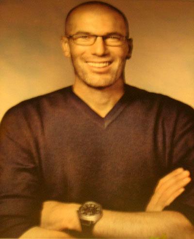 Campagne Grand Optical : Zinedine Zidane porte une Big Ingenieur IWC