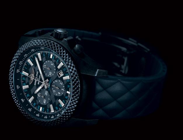 """Breitling for Bentley GT """"Dark Sapphire"""""""