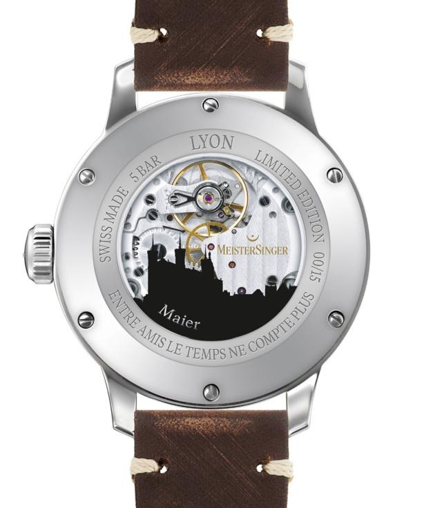 Meistersinger City Edition : une ville, une montre...