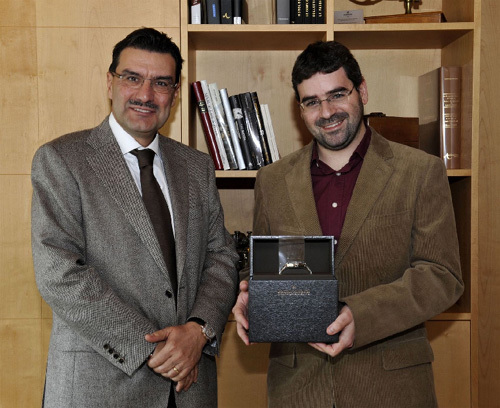 Le Dr Dominique Eckert lauréat du Prix Vacheron Constantin des Sciences 2009