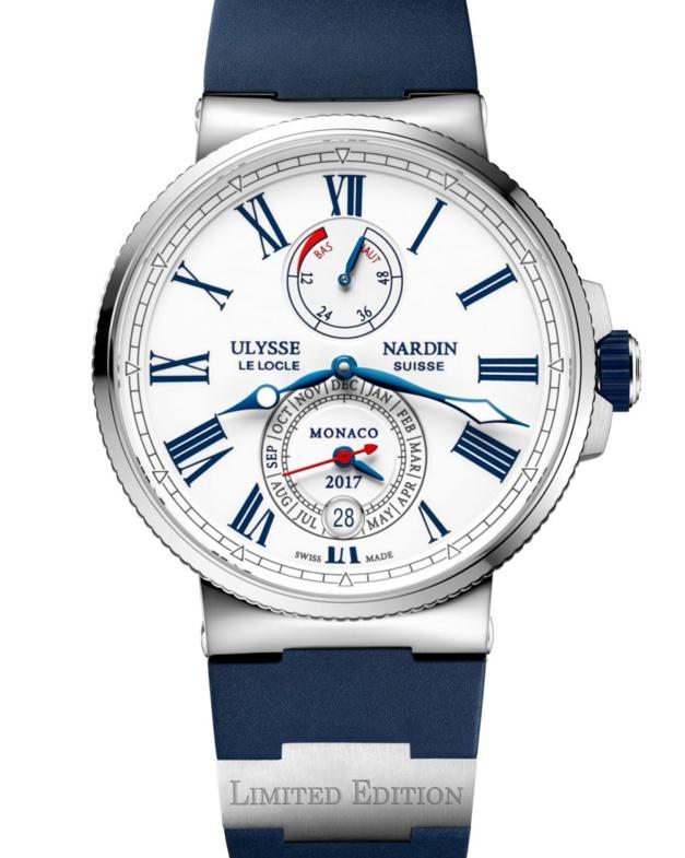Ulysse Nardin Marine Chronometer : édition spéciale Monaco Yacht Show
