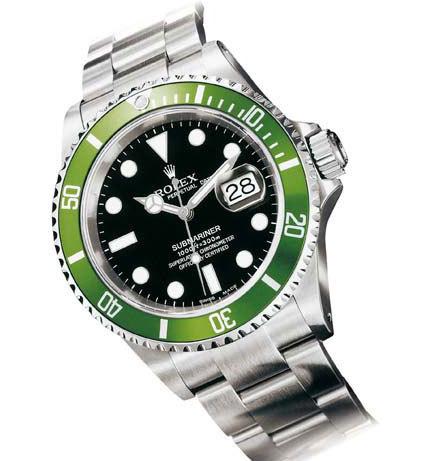 Rolex Submariner « verte » 16610LV : les spécificités des cadrans Mark 3, 4 et 5