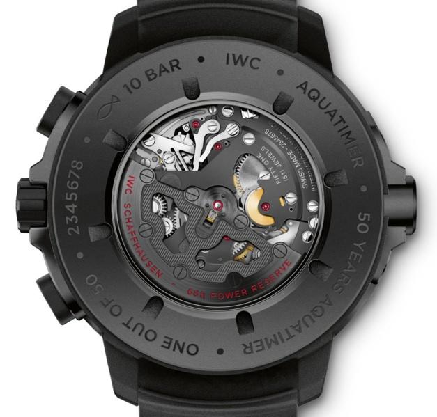 IWC : une Aquatimer chrono QP se pare de ceratanium