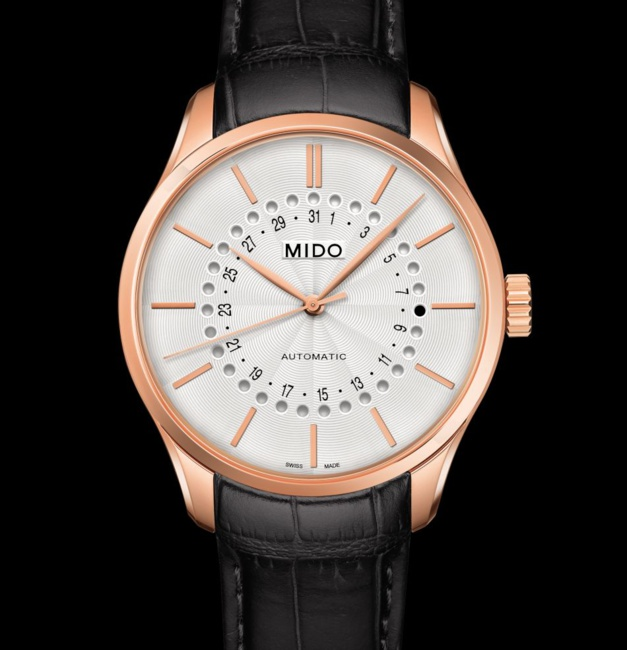 "Mido Belluna Mysterious Date 40 mm : une ""date"" originale et accessible"