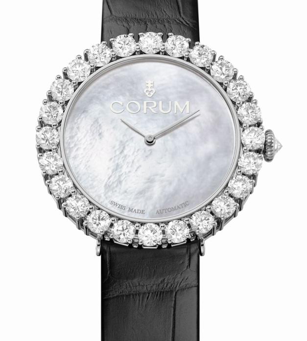 Heritage Sublissima : la nouvelle montre joaillière de Corum