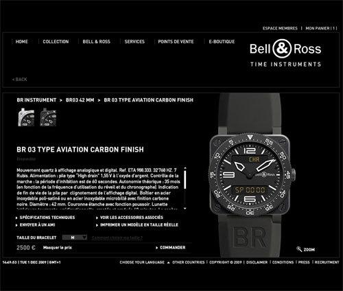 Bell & Ross se lance dans le e-commerce