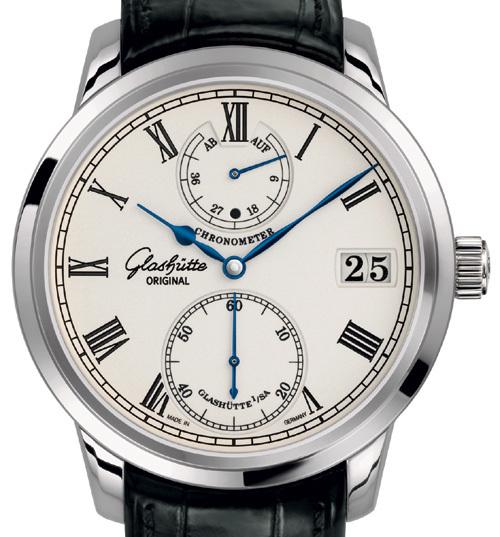 Chronomètre Senator Glashütte Original : à la seconde près
