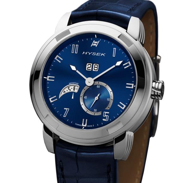 Hysek IO calendrier annuel : un classique horloger en version contemporaine