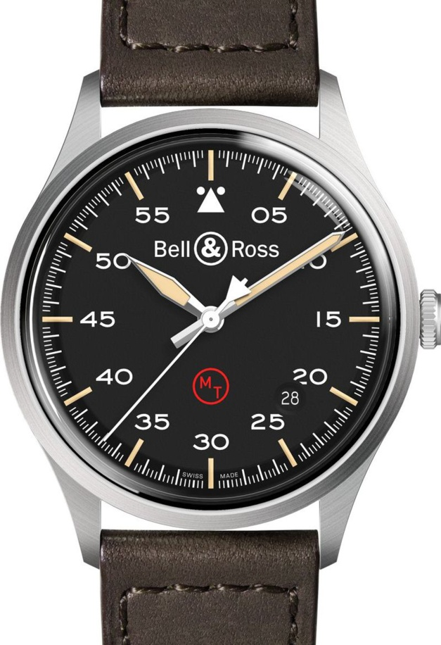 Bell & Ross BRV1-92 Military : montre d'état-major