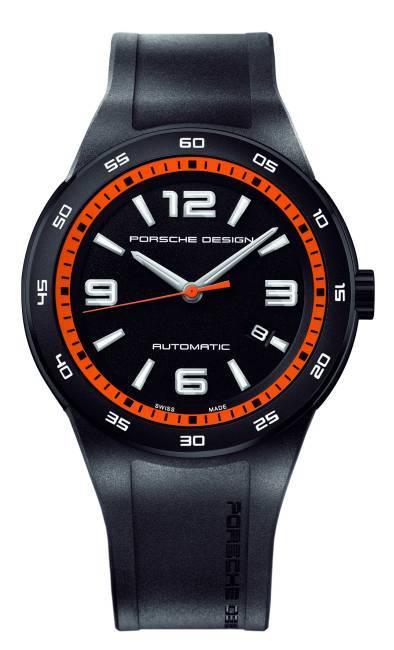 Porsche Design Flat Six P'6310 : l'élégance du noir, la vitalité de l'orange