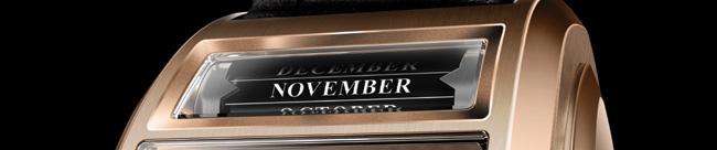 Chapter Two : les Maitres du Temps présentent un Triple calendrier grande date