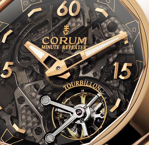 Corum Admiral's Cup Minute Repeater Tourbillon 45 : ce qui est beau à l'intérieur se voit de  l'extérieur