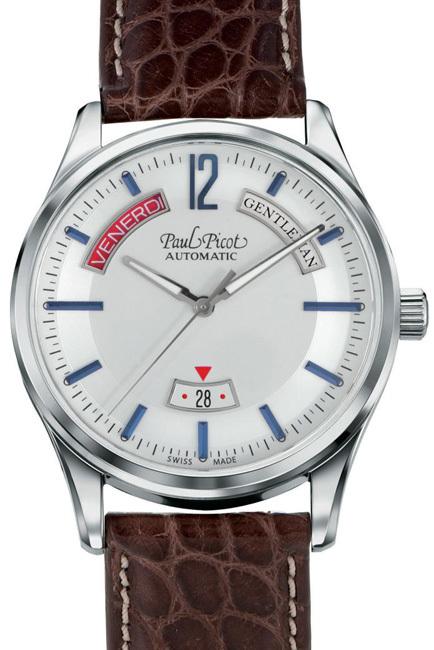 Paul Picot Gentleman Arc-en-ciel : l'heure en couleur