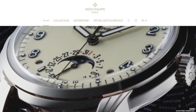 Patek Philippe présente son tout nouveau site Patek.com