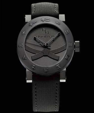 Black Belt Watch : la montre des ceintures noires de karaté !