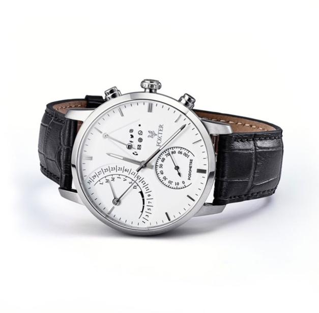 Foxter : la montre connectée qui reprend les codes du luxe
