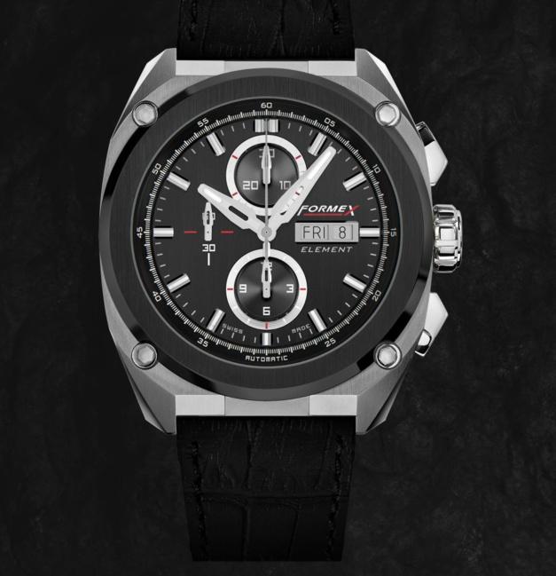formex lance element une nouvelle montre de luxe suisse. Black Bedroom Furniture Sets. Home Design Ideas