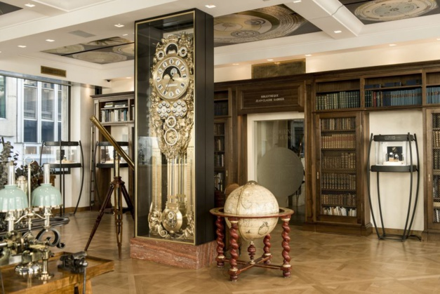 F.P. Journe : la bibliothèque