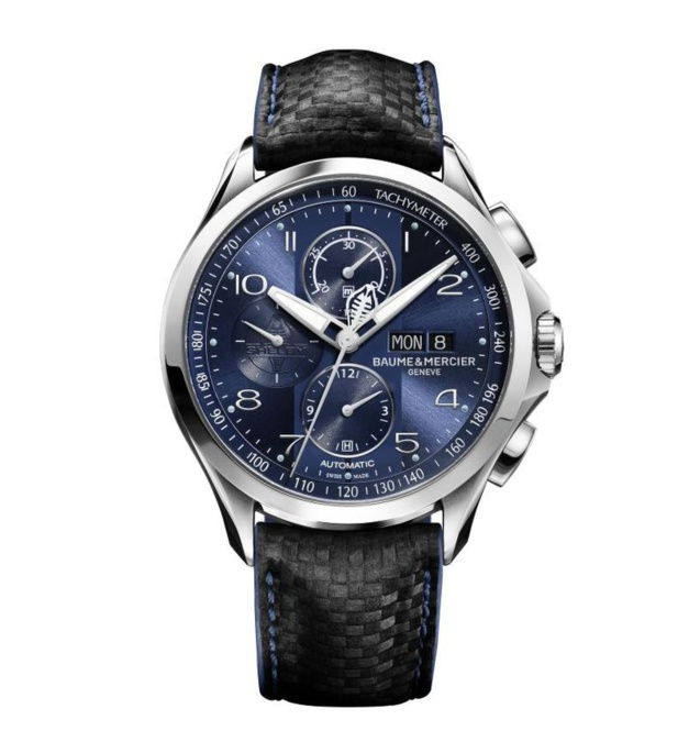 Baume et Mercier Clifton Club Shelby Cobra Bucherer Blue Editions
