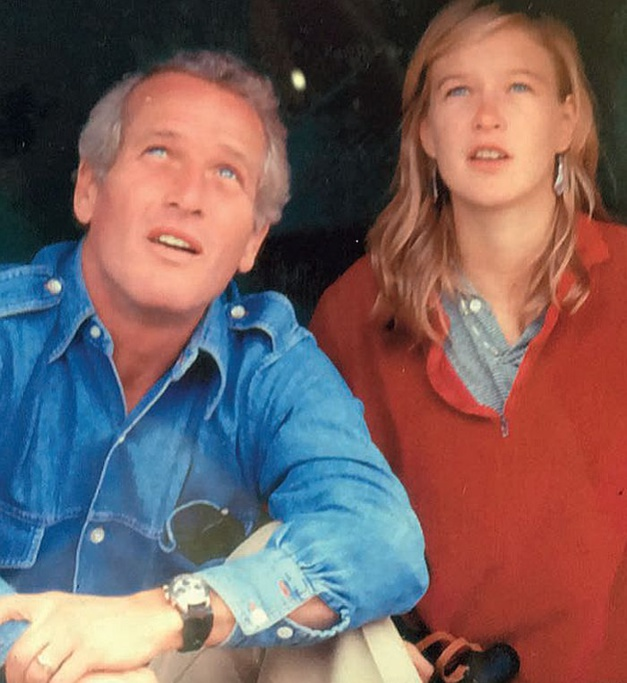 Paul Newman with daughter Nell Newman. Photos courtesy of James Cox and Nell Newman