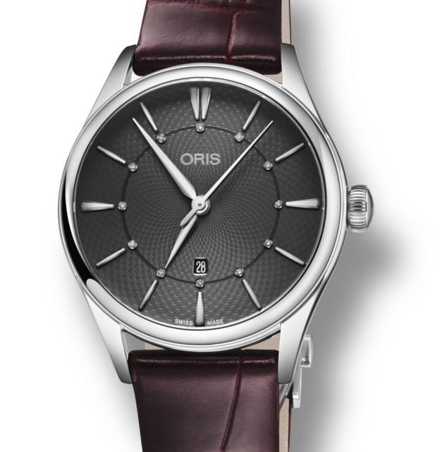 Oris Artelier Date Diamonds : montre mécanique et féminine