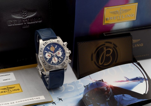 Breitling, un univers à part : un Chronomat au profit des enfants malades