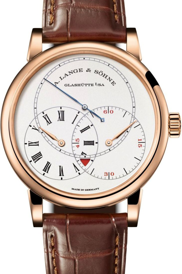 Richard Lange Seconde Sautante : l'or rose après le platine