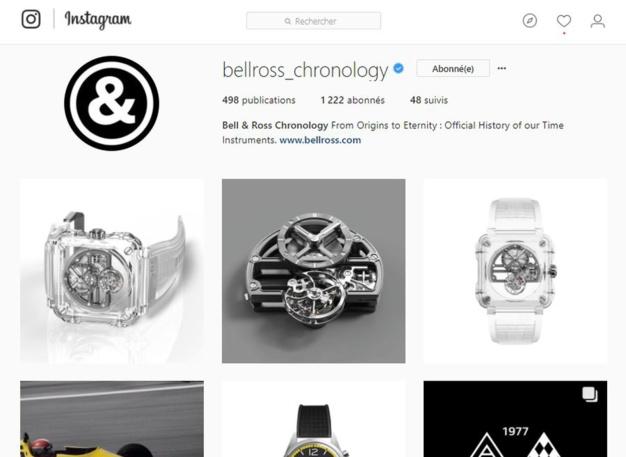 """Bell & Ross Chronology : le compte Instragram """"chrono-logique"""" de la marque"""