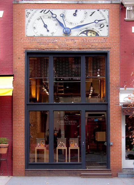 Chronoswiss ouvre une boutique exclusive à New York