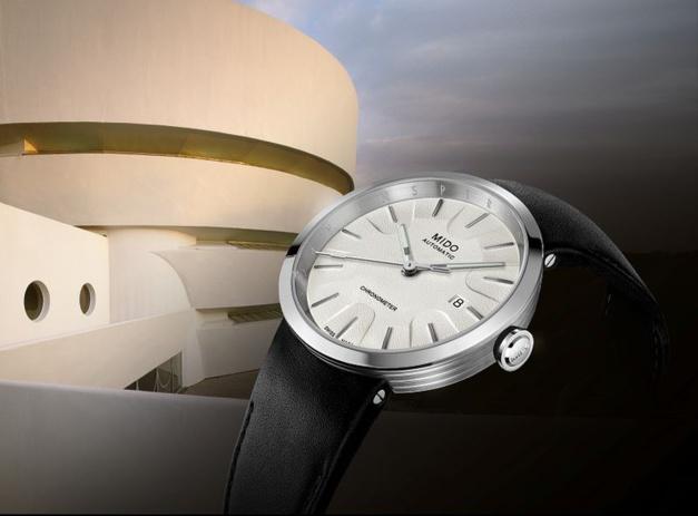 Une Mido qui s'inspire du musée Guggenheim de New-York