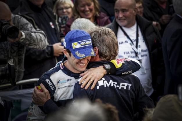 Sébastien Ogier, un 5ème titre de Champion du monde avec sa Richard Mille au poignet