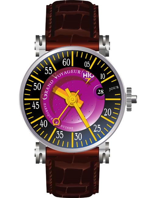 Grand Voyageur HTO Watches : la montre qui s'inspire des horloges de gare